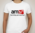 AMTV Ladies T-Shirt White