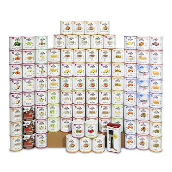 One Year Food Storage Kit - Over 5,800 Servings