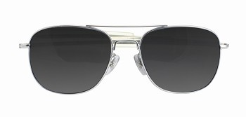 Chrome Military Sunglasses - Polarized lenses with UV protection