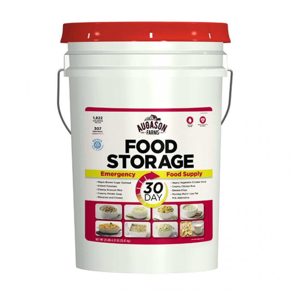 Emergency Food Supply List For One Year