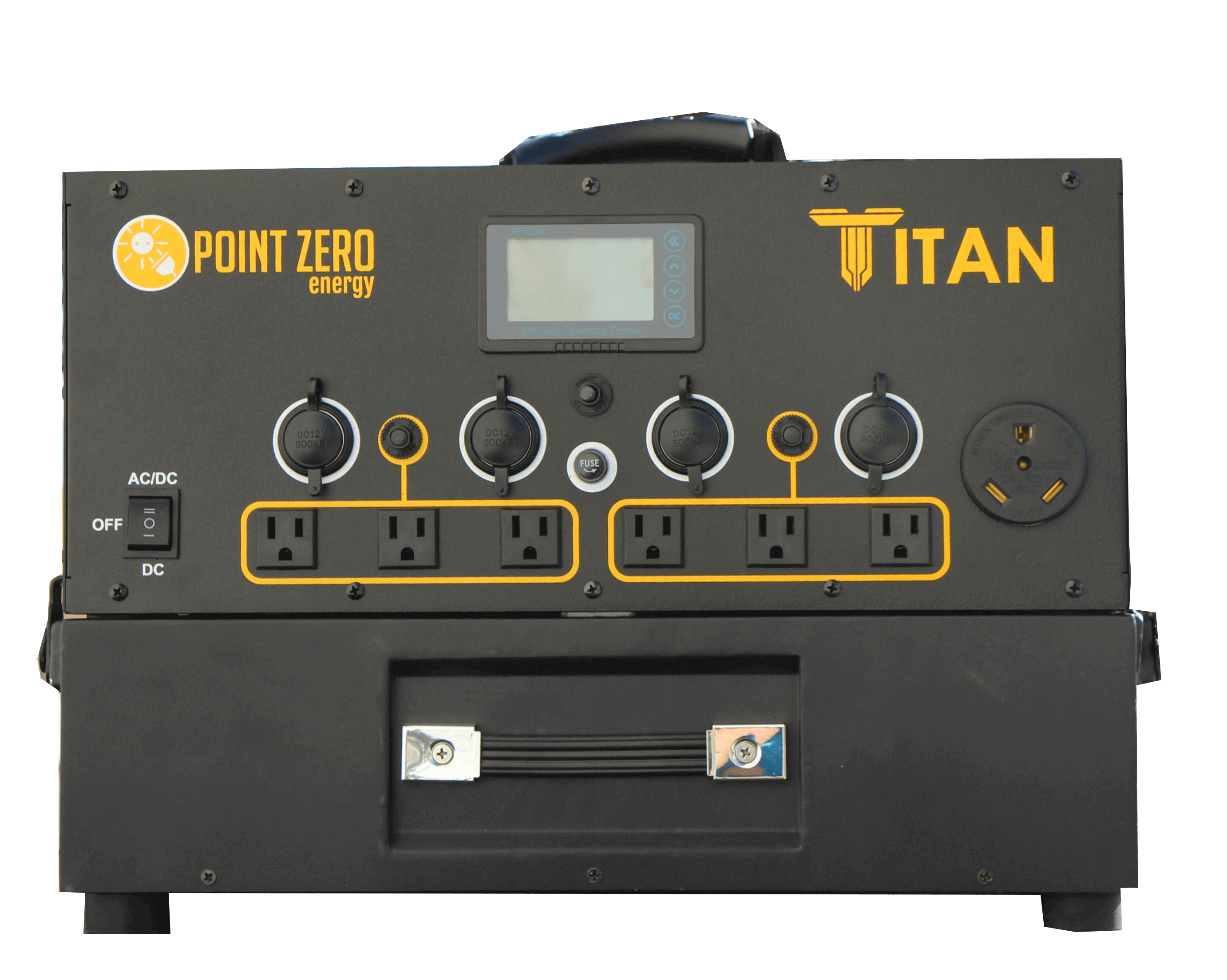 Titan 1000 (with one battery and 1000 watts of solar)