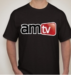 AMTV Rugged Logo Black Shirt