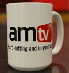 AMTV 15 oz Coffee Mug White
