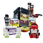 60 Day Food Storage & Bug Out Bag Essentials  - Level I
