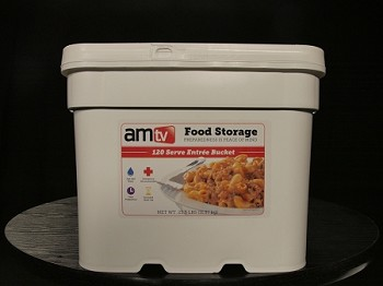AMTV  2 Month Entree' Bucket (1 Person, 120 Servings)