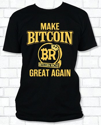 Make Bitcoin Great Again T-Shirt